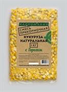 Прикормочная Смесь Карпомания Кукуруза Натуральная с Горохом Пакет 1кг
