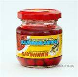 Кукуруза Карпомания в Стеклянной Банке Красная с ароматом Клубники 105гр