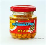 Кукуруза Карпомания в Стеклянной Банке Жёлтая с ароматом Мёда 105гр