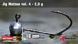 Джиг-головка Matzuo №4 Black 2,0гр 5шт/уп