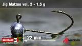 Джиг-головка Matzuo №2 Bronz 1,5гр 5шт/уп
