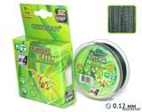 Леска Плетёная Spider Green 100м 0.12мм
