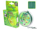 Леска Плетёная Spider Green 100м 0.16мм