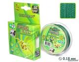 Леска Плетёная Spider Green 100м 0.18мм