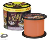 Леска Carp Expert UV Fluo Orange 1000м 0,30мм 12.5кг Metal Can