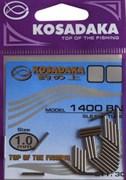 Трубка обжимная 1.0mm (30шт.) Kosadaka 1400BN