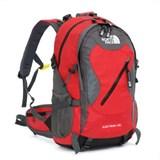 Рюкзак РН-01 The North Face цвет красный, объем 40л