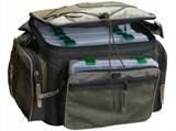 Сумка Рыболовная Aquatic СК-13 с 6 коробками FisherBox, 23x31см