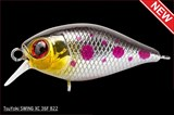 Воблер TsuYoki Swing XC 36F 0-0,8м 36мм 4,0гр цвет 822