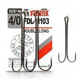 Крючки Двойные Fanatik Double Long FDL-11103 №4/0 2шт/уп