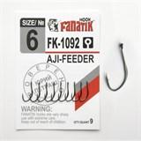 Крючки Fanatik Aji Feeder FK-1092 №06 9шт/уп