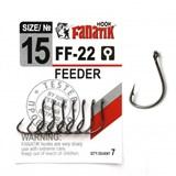 Крючки Fanatik Feeder FF-22 №15 7шт/уп