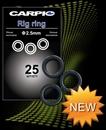 Кольцо Круглое Carpio Rig Ring 2,5мм 25шт/уп