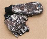 Перчатки с Откидным Пальцами Анфия Камуфлированные с магнитом
