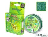 Леска Плетёная Spider Green 100м 0.30мм 29,9кг