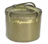 Ведро Aquatic В-05 для замешивания прикорма с крышкой, герметичное, хаки