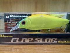 Воблер Megabass Flap Slap 77мм 10,5гр 0,6-0,8м skeleton chart