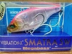 Ратлин Megabass Vibration-X Smatra SW nc pink back
