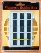 Коробка для Крючков Takara магнитная двухстороняя L014B 12х8х1,5см