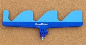Подставка Rosy Dawn гребенка 3 неопрен регулируемая синяя малая