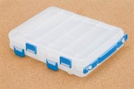 Коробка Rosy Dawn Двусторонняя 6х2 отделений 16х20см Прозрачная