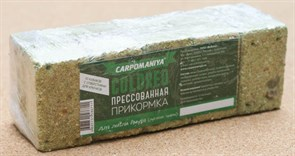 Прикормка прессованная Карпомания для ловли Амура (луговые травы) 0,5кг