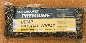 Прикормка Карпомания Premium Конопля Натуральная с Пшеницей. Пакет 500гр