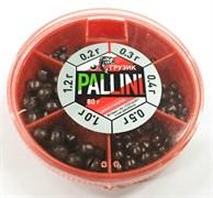 Набор Дробинок Palini Белоруссия №6 80гр (0,2-0,3-0,4-0,5-1,0-1,2гр)