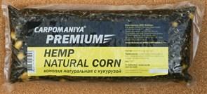 Прикормка Карпомания Premium Конопля Натуральная с Кукурузой. Пакет 550гр