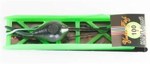Бойловый монтаж на мотовиле Yuber-Fish Карп-бомб 100гр 14см