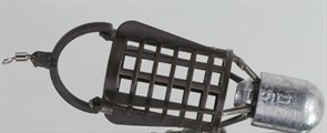 Кормушка Sport RB Sport-Bullet (Пуля) XL Круглая 42х30мм 100гр Коричневая