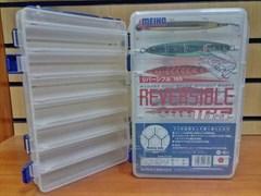Коробка для приманок Meiho Reversible 165 Clear