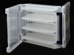 Коробка для приманок Meiho Reversible 180V Clear