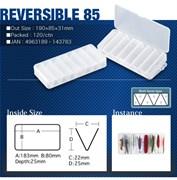 Коробка для приманок Meiho Reversible 85 Clear