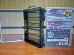 Коробка для приманок Meiho Reversible D-86 Black