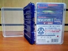 Коробка для приманок Meiho Reversible F-86 Blue