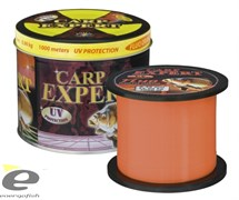 Леска Carp Expert UV Fluo Orange 1000м 0,35мм 14.9кг Metal Can