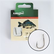 Готовый Поводок Kamasaki Carbon Hook K807BN №04, 0,25мм, 70см 10шт/уп