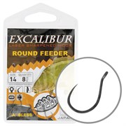 Крючки Excalibur Round Feeder BL Ns 18