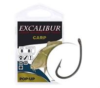 Крючки Excalibur Carp Pop-Up Black 6
