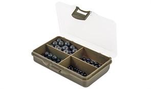 Набор Резиновых Бусин Rubber Shock Bead Set 4 Soft-Hard Bl