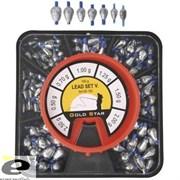 Набор скользящих Оливок Gold Star Lead Set 5 (0,5-0,7-1,0-1,25-1,5-2,0-2,5гр) 150гр