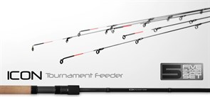 Удилище фидерное Zemex Icon Tournament Feeder 12 ft 75гр