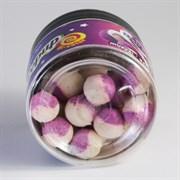 Мини-Бойлы Плавающие Benzar Mix Bicolor Method 10мм PopUp Ракушка-Чеснок 20шт/уп