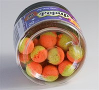 Мини-Бойлы Плавающие Benzar Mix Bicolor Method 10мм PopUp Апельсин-Шоколад 20шт/уп