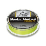 Плетеная леска Varivas Master Limited Premium PE 75м yellow #0.175 3,3Lb/0,069мм