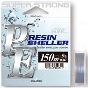 Плетеная леска Yamatoyo PE Resin Sheller Gray 150м #0.8 11Lb