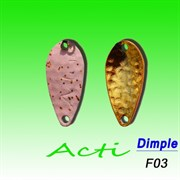 Блесна Ivyline Acti Dimple 1,8гр #f03