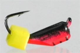 Гвоздекубик 3 Красный+чёрный, Кубик сырный 0,7гр 3шт