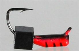 Гвоздекубик 2 Красный+черный, Кубик чёрный 0,4гр 3шт